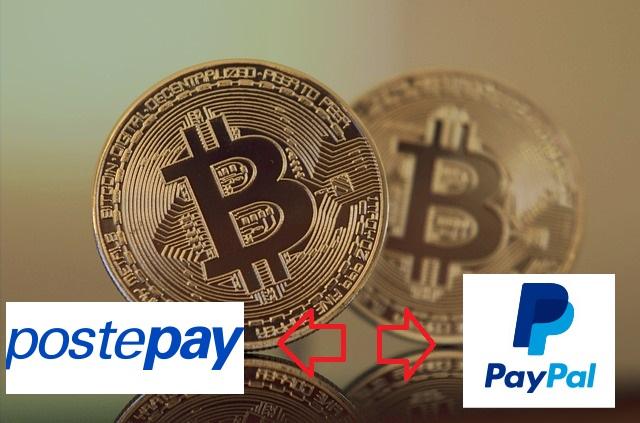 come acquistare bitcoin con paypal e postepay