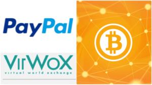 comprare bitcoin con paypal usando VirWoX